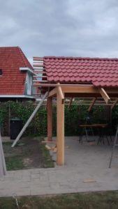 Uitbouw tuinhuis